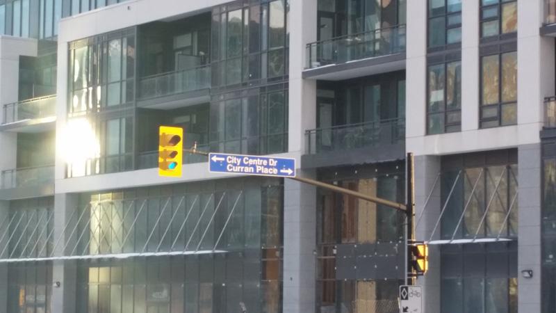 Daniels Condos - City Centre Drive at Confedration